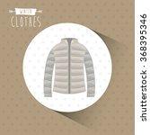 winter clothes design  | Shutterstock .eps vector #368395346
