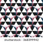 seamless dark blue and burgundy ... | Shutterstock .eps vector #368399942