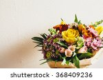 Bouquet Of Colorful Flowers On...