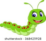 Cute Caterpillar Cartoon