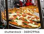 fresh italian pizza in new york ...   Shutterstock . vector #368429966