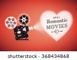 best romantic movies concept... | Shutterstock .eps vector #368434868