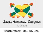 a valentines flag illustration... | Shutterstock . vector #368437226
