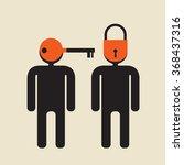 introvert vs   extrovert   or... | Shutterstock .eps vector #368437316