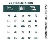 presentation  chart  diagram ... | Shutterstock .eps vector #368440592