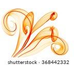 Bright Orange Flower Style...