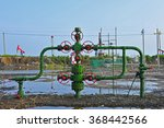 valves and piping  | Shutterstock . vector #368442566