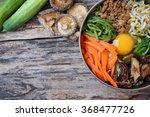 bibimbap korean food | Shutterstock . vector #368477726