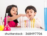 4 year old indian boy and girl... | Shutterstock . vector #368497706