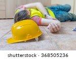 injured worker had accident.... | Shutterstock . vector #368505236