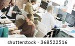 business people meeting...   Shutterstock . vector #368522516