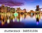 orlando  florida  usa downtown... | Shutterstock . vector #368531336