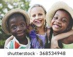 children friendship...   Shutterstock . vector #368534948