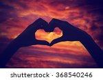 heart   shape conceptual symbol ... | Shutterstock . vector #368540246