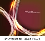 energy transparent lines... | Shutterstock .eps vector #368544176