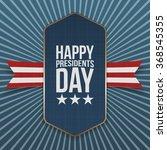 happy presidents day big... | Shutterstock .eps vector #368545355