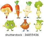 illustration of various objects ... | Shutterstock . vector #36855436