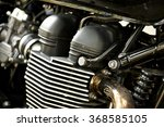 Motorcycle Engine Close Up...