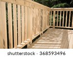 New Deck Patio Built Of Wood ...