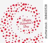 hearts swirl valentine...   Shutterstock .eps vector #368603528