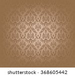 vector illustration of brown... | Shutterstock .eps vector #368605442