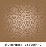 vector illustration of brown... | Shutterstock .eps vector #368605442