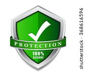 ssl protection secure green... | Shutterstock .eps vector #368616596