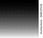 halftone squares pattern.... | Shutterstock .eps vector #368629226