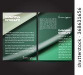 vector brochure template design ... | Shutterstock .eps vector #368631656