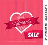 valentine's day sale | Shutterstock .eps vector #368653346