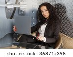 business concept   portrait of... | Shutterstock . vector #368715398