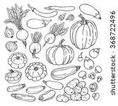 doodle vector illustration of... | Shutterstock .eps vector #368722496