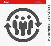 team icon. professional  pixel... | Shutterstock .eps vector #368727866