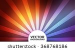 vintage sunrise blur background.... | Shutterstock .eps vector #368768186