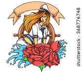 vector illustration of female... | Shutterstock .eps vector #368776748