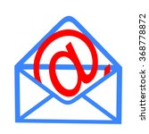 envelope with e mail symbol | Shutterstock . vector #368778872