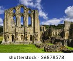 Scenic View Of Ruins Of...