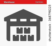 warehouse icon. professional ...   Shutterstock .eps vector #368798225