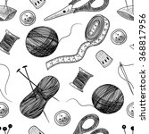 seamless vector pattern with... | Shutterstock .eps vector #368817956