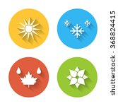 seasons icons | Shutterstock .eps vector #368824415
