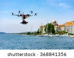 professional movie camera drone ... | Shutterstock . vector #368841356