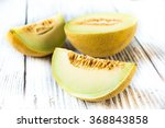 fresh melon  | Shutterstock . vector #368843858