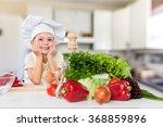 child chef. | Shutterstock . vector #368859896
