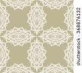seamless lace pattern  floral... | Shutterstock .eps vector #368876132