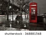 London Telephone Red Box In...
