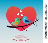 happy valentine's day.  | Shutterstock .eps vector #368882852