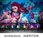 Graffiti Street Art Murals And...