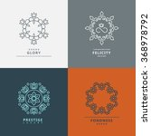 logos templates in style with...   Shutterstock . vector #368978792