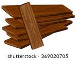 pile of wooden plywoods...   Shutterstock .eps vector #369020705