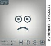 face sign icon  vector... | Shutterstock .eps vector #369033188